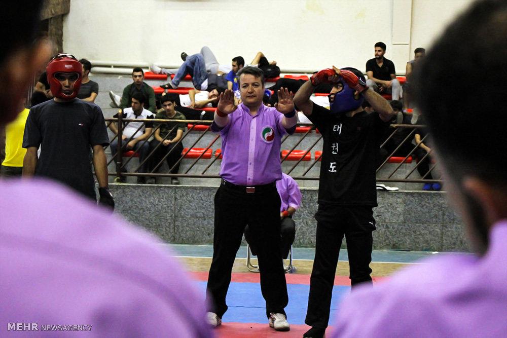 مسابقات قهرمانی کونگ فو مردان بزرگسال کشور در سنندج