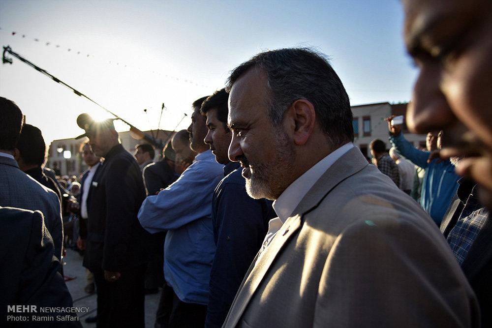 تصاویر افتتاح فاز نخست زائرشهر رضوی در روز میلاد حضرت رضا(ع)