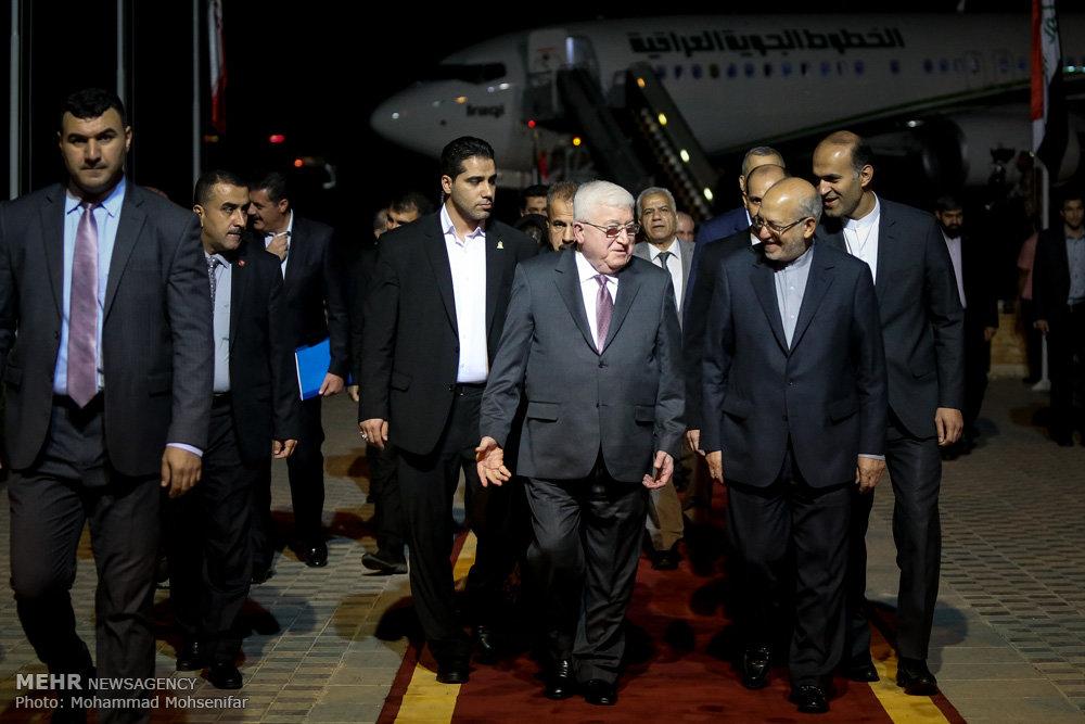 تصاویر ورود مهمانان خارجی شرکت کننده در مراسم تحلیف رئیس جمهور - ۱
