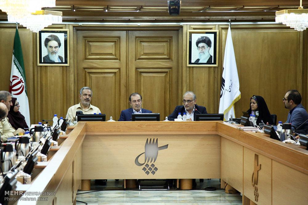 تصاویر جلسه منتخبین شورای اسلامی شهر تهران