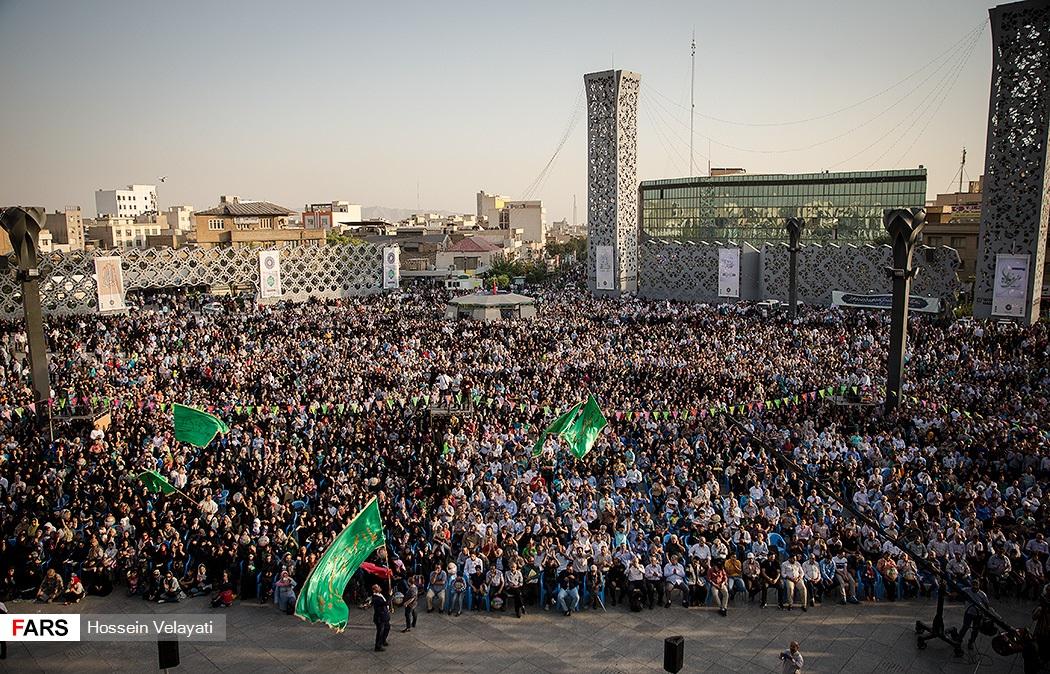 جشن بزرگ عید غدیر در میدان امام حسین(ع)