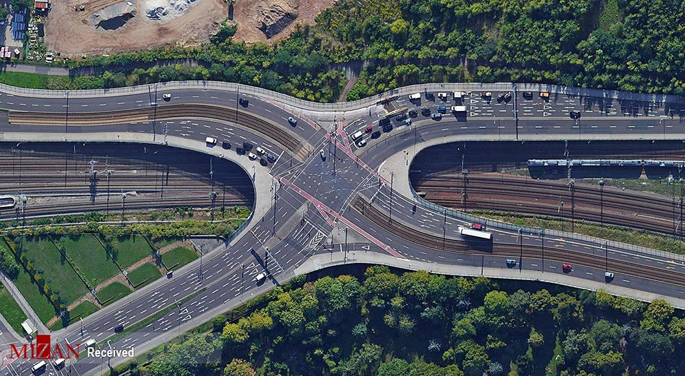 تصاویر هوایی از مناظر آلمان