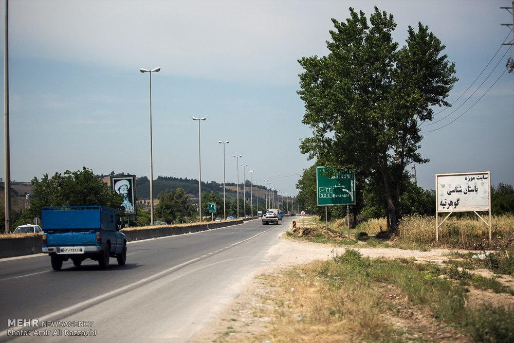 تصاویر تپهی باستانی گوهرتپه