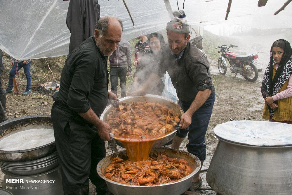 عزاداری برادران اهل سنت در روستای شامیلرزان / تصاویر