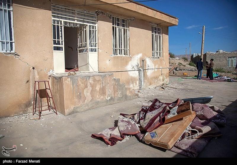 آلودگی محیط اطراف اسکان موقت زلزله زدگان سرپل ذهاب