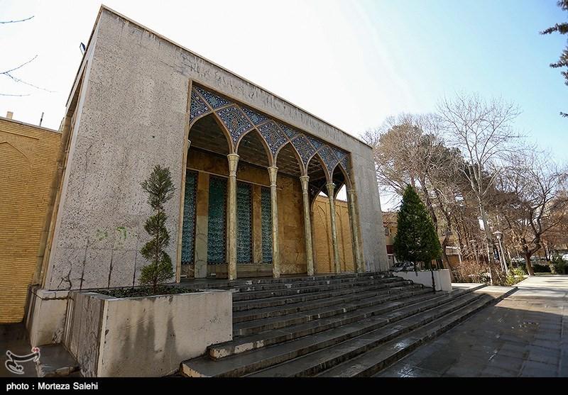 تصاویری از آرامگاه صائب تبریزی خرداد 97