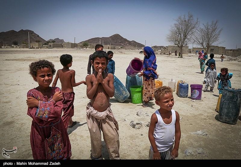 تصاویر بحران آب درمنطقه دشت یاری چابهار