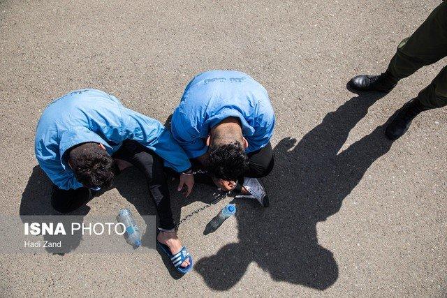 دستگیری سارقان تخریبگر در خیابان گاندی