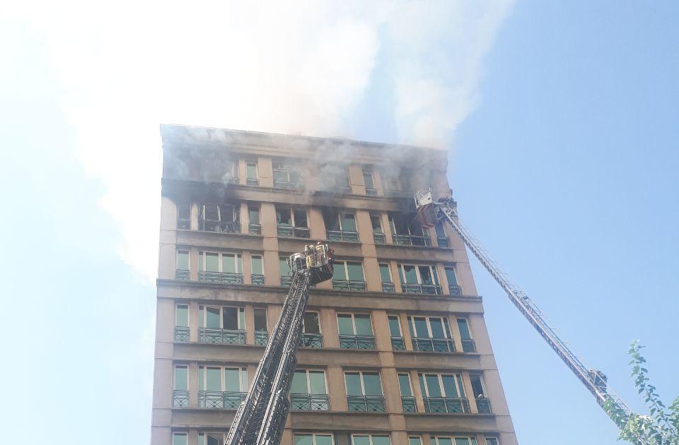 جزییات آتش سوزی ساختمان توسعه انرژی قشم تشریح شد