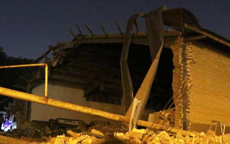 انفجار در ورزشگاه تختی اهواز