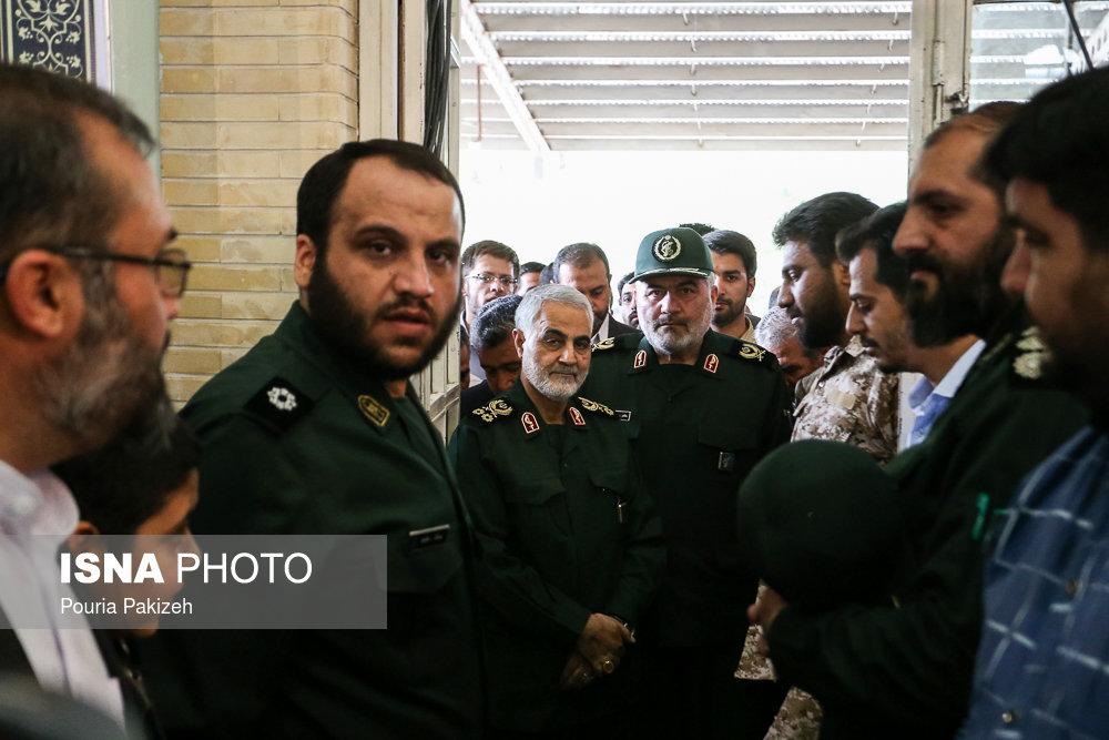 یادواره شهدای عملیات رمضان با حضور سردار سلیمانی/ تصاویر