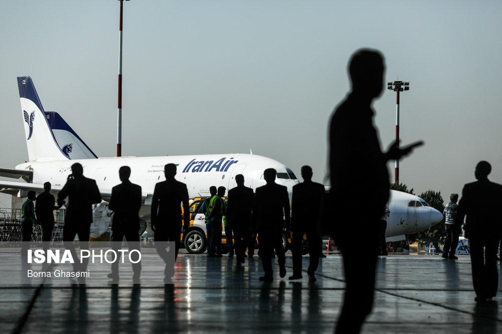 ورود ۵ فروند هواپیمای ATR به ناوگان ایرانایر/ تصاویر