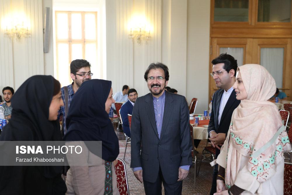 گرامیداشت روز خبرنگار در وزارت امور خارجه/ تصاویر