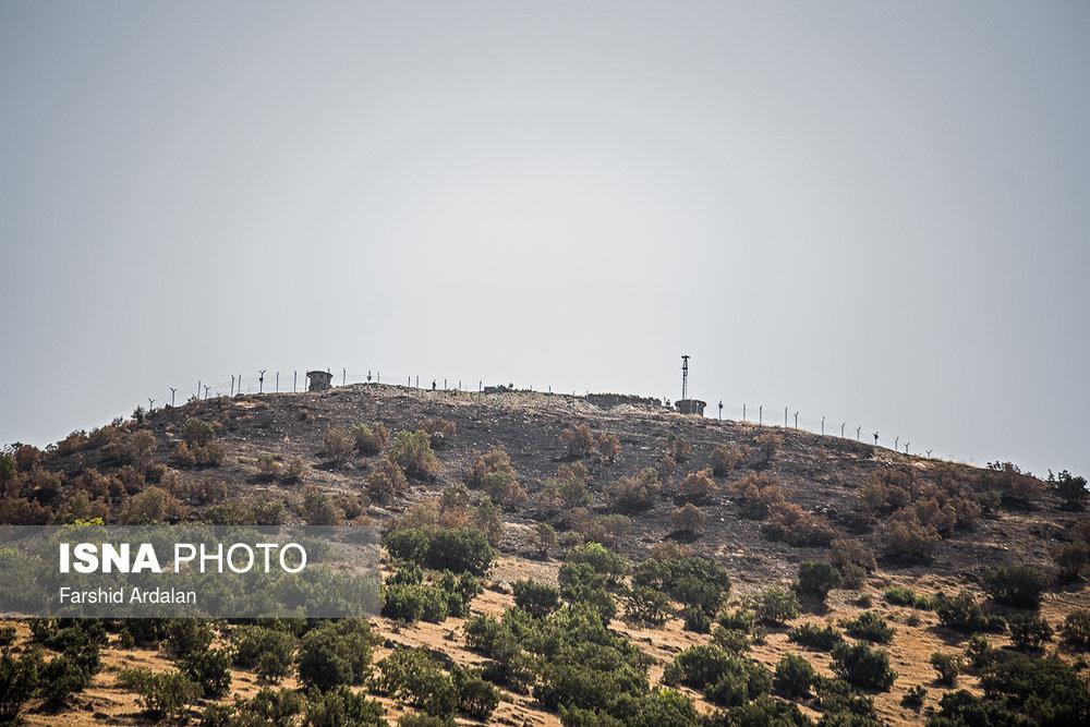 محل حادثه تروریستی مریوان/ تصاویر