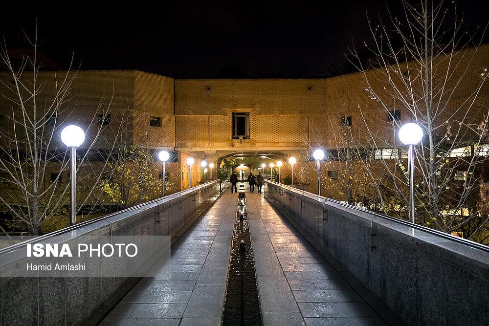 تصاویری از شبهای کتابخانه ملی