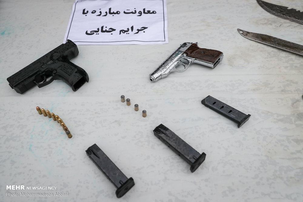 تصاویر طرح دستگیری سارقین تهران