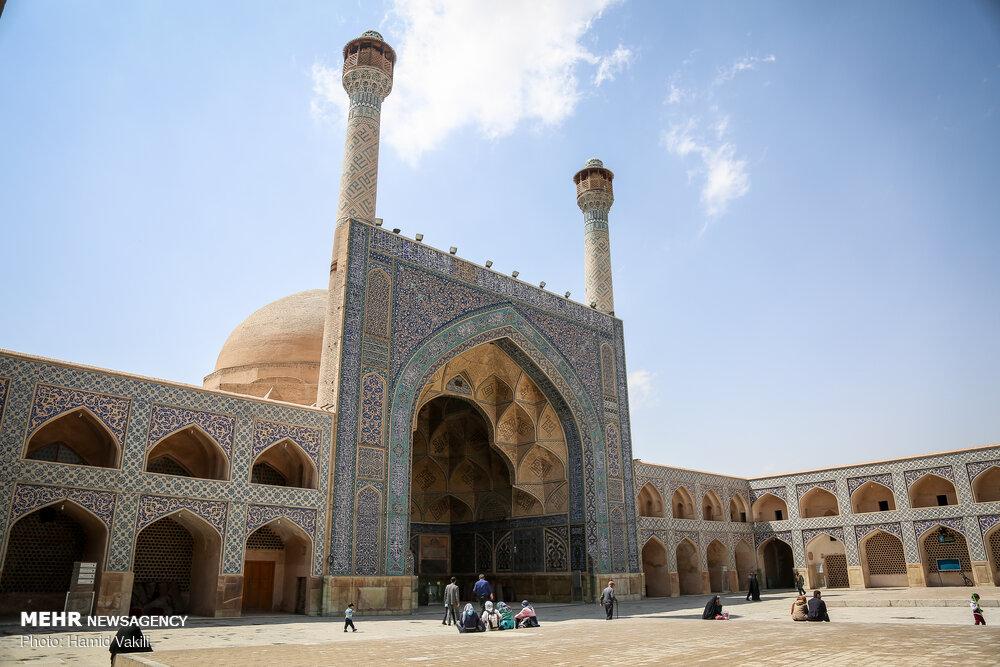 تصاویری جدید از مسجد جامع اصفهان