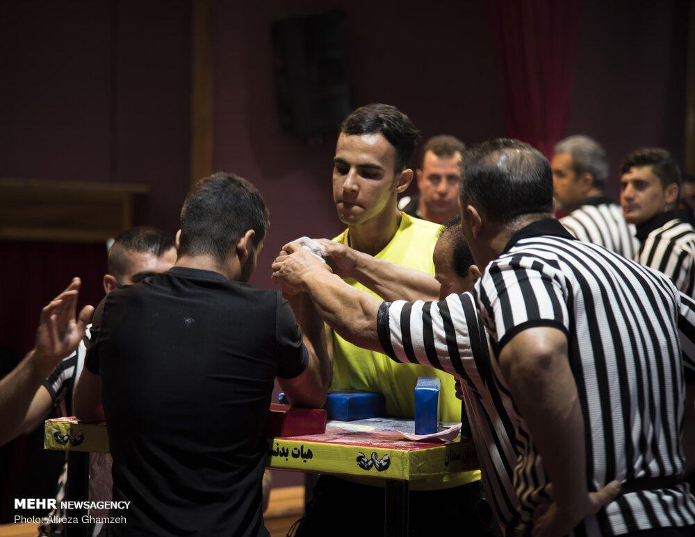 تصاویر مسابقات مچ اندازی قهرمانی کشور در شاهرود