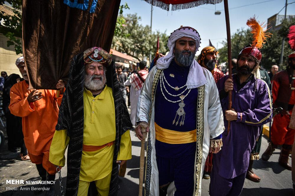 تصاویر عزاداری ظهر عاشورا در شیراز