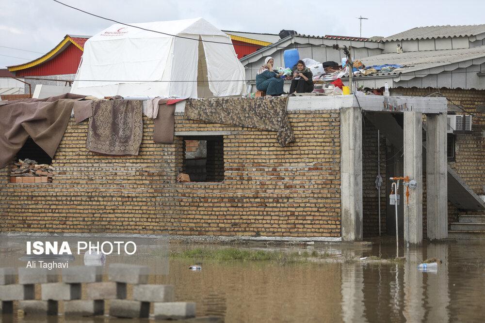 زندگی پس از سیل در استان گلسان / تصاویر