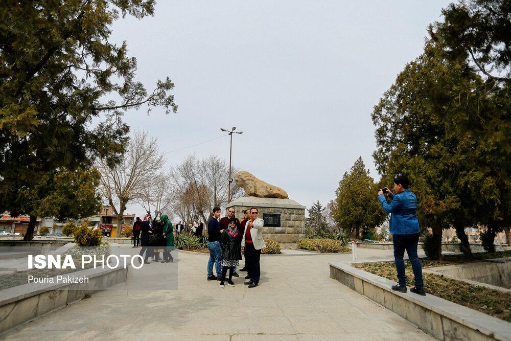 تصاویر مسافران نوروز ۹۸ در همدان