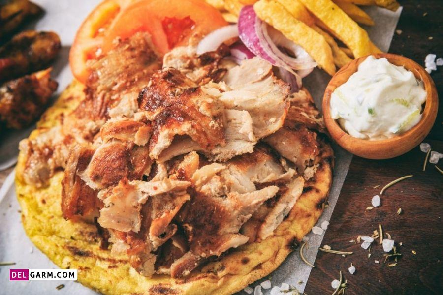 خوراک مرغ ترکی