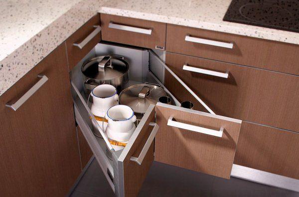 فضای قناسی آشپزخانه