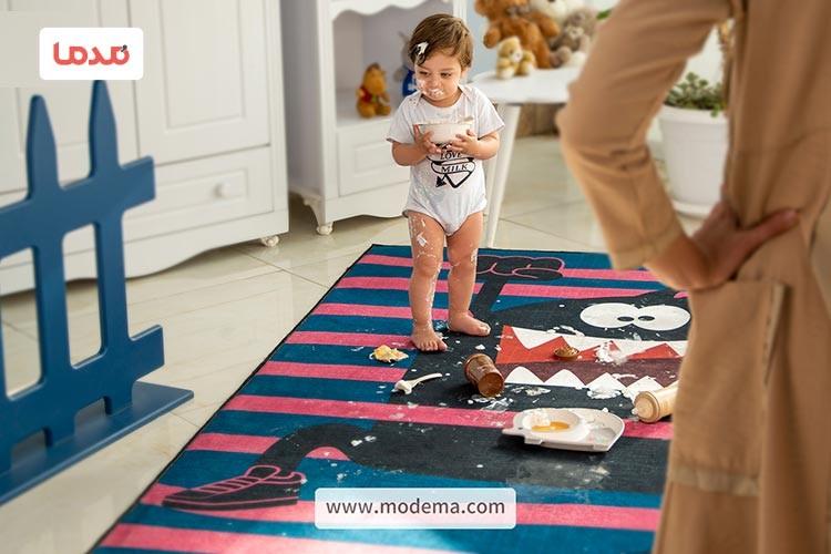 فرش مخصوص کودکان چه ویژگی هایی دارد!