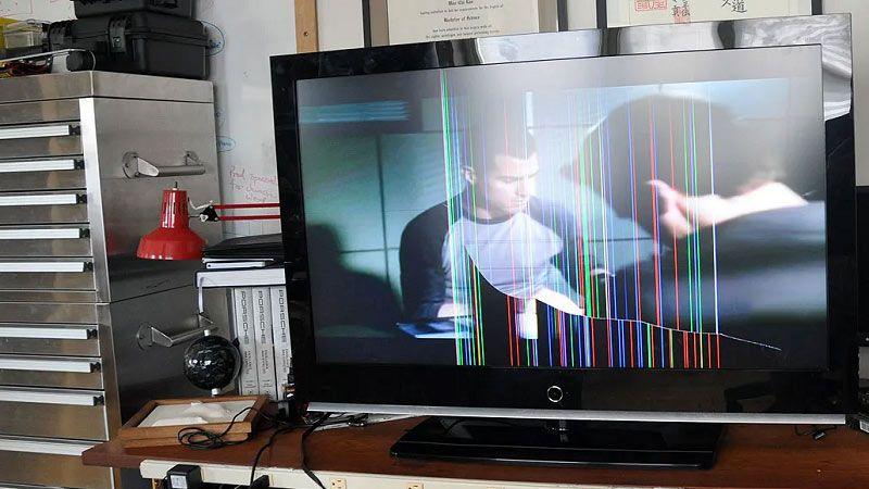 رایج ترین دلایل افتادن خط در تلویزیون ال ای دی ال جی