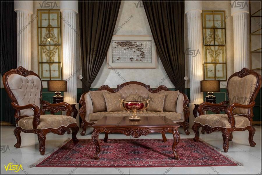 دکوراسیون منزل عروس با مبلمان کلاسیک بهتره یا مبلمان راحتی ؟