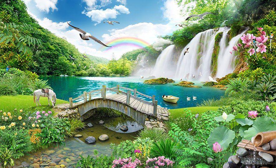 پوستر دیواری طبیعت