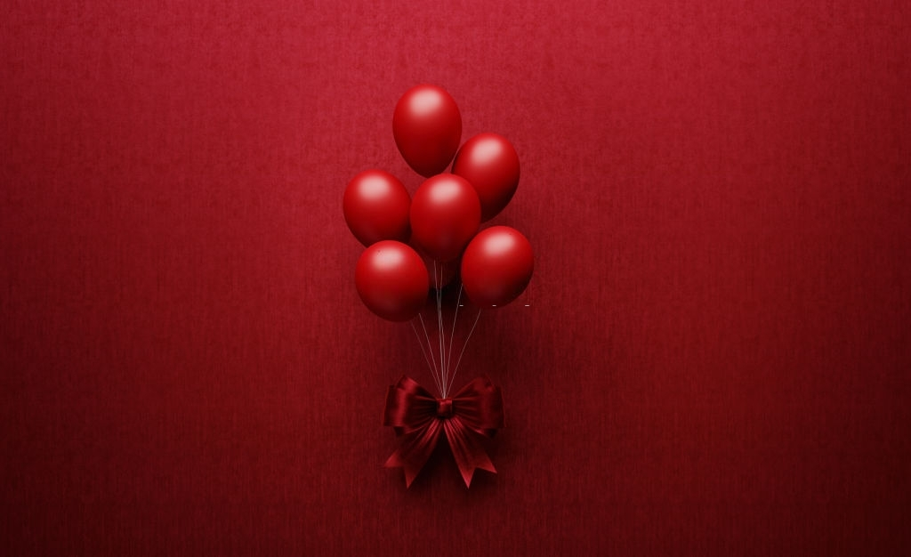 Balloons Lovely valentines day
