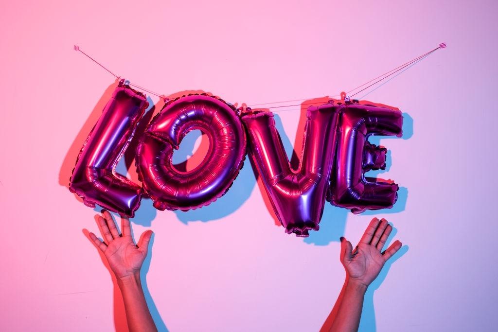 تصاویر بادکنک های عاشقانه Balloons Lovely valentines day