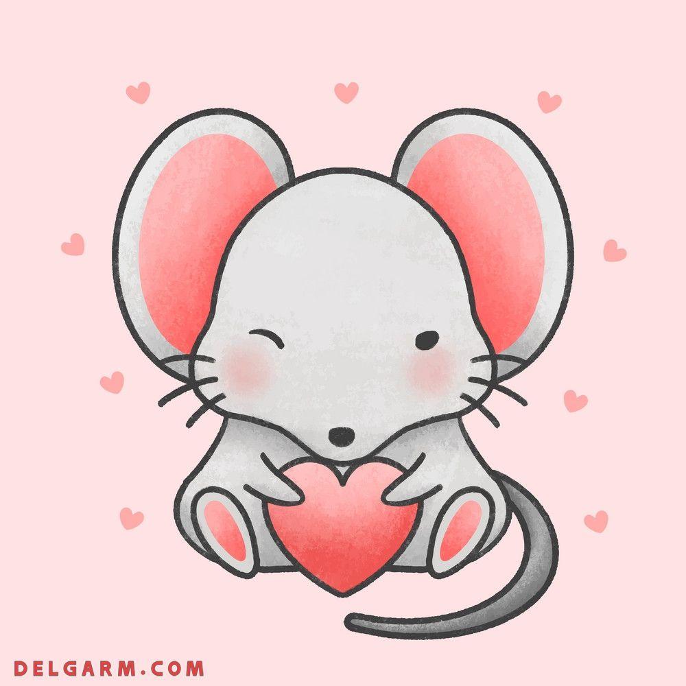 عکس موش عاشق