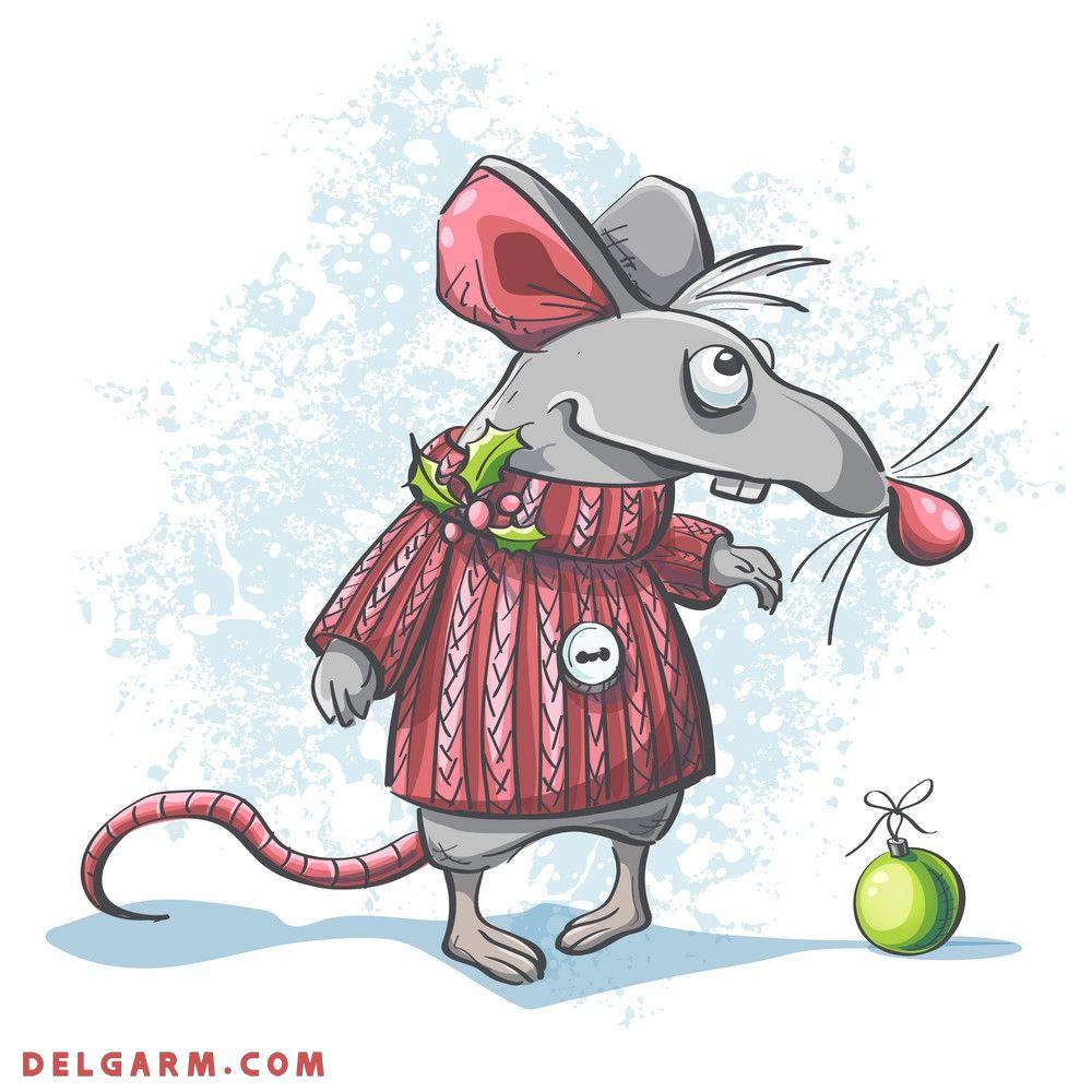 عکس موش پیر سال موش