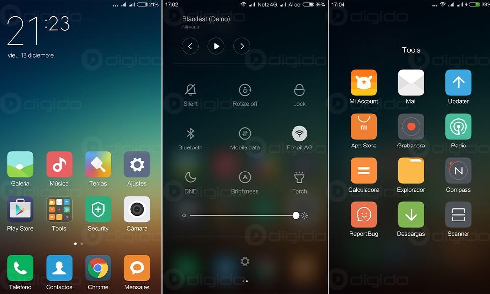کدام رابط کاربری گوشی را ترجیح می دهید؟