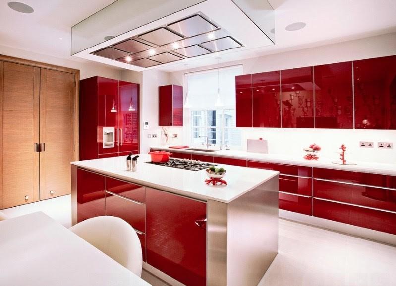 کابینت های آشپزخانه گلاس