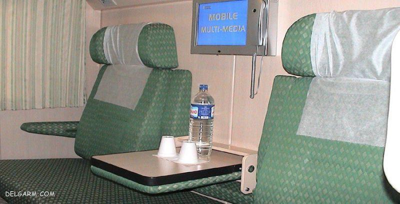 لوکس ترین و بهترین قطار ایران
