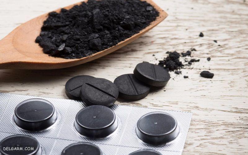 زغال سیاه فعال در مرهم سیاه