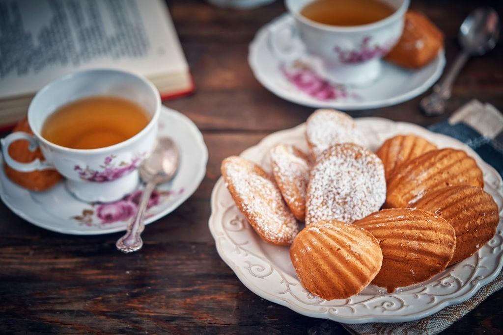 کیک و چای، عصرانه