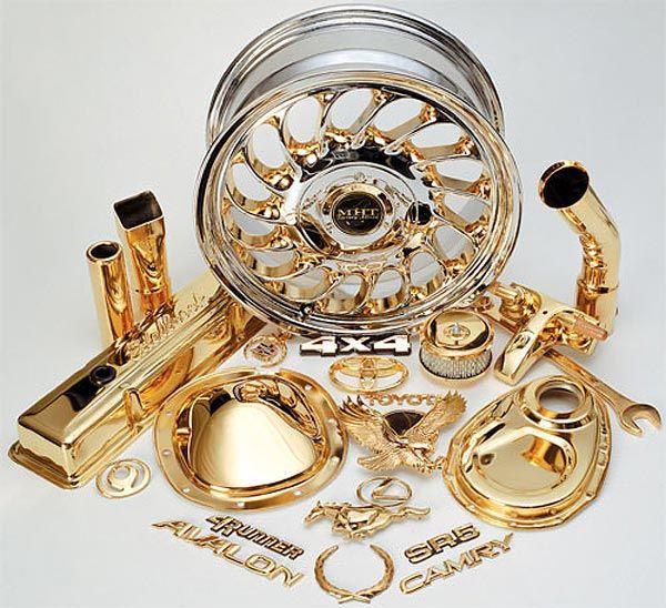 آبکاری طلا