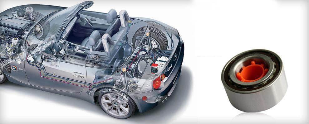 بررسی انواع بلبرینگ و رولبرینگهای موجود در خودرو