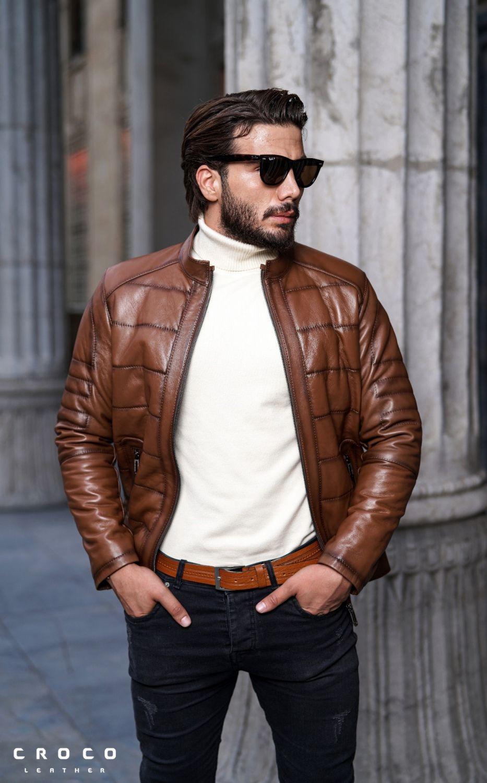بهترین راهنمای خرید کت و کاپشن چرم مردانه