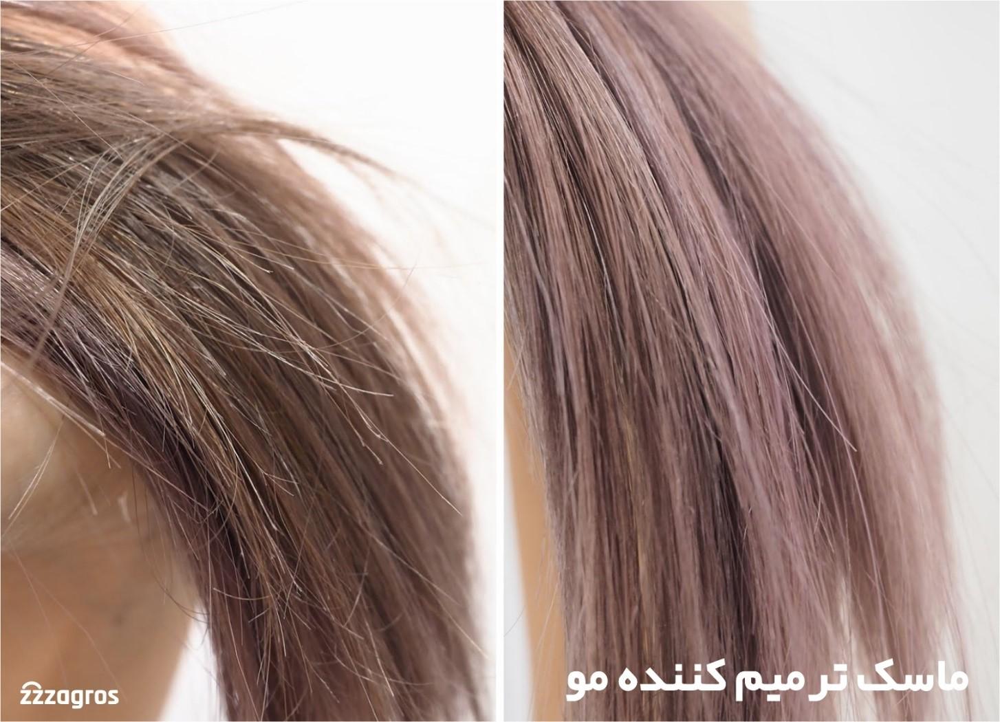 نقش ماسک مو و کرم مو در سلامت و زیبایی مو