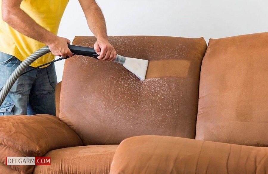 شستشوی مبل برای خانه تکانی نوروز 1400