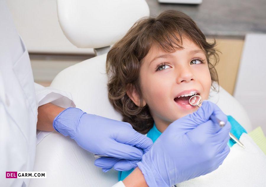 تسکین دندان درد کودک