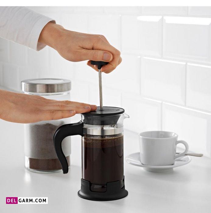 چطور در فرنچ پرس قهوه درست کنیم؟
