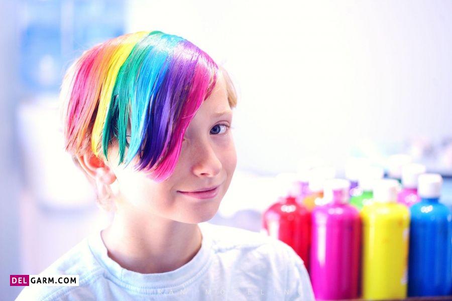 سن مناسب برای رنگ مو