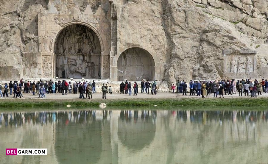 بیستون از معروف ترین جاهای دیدنی کرمانشاه