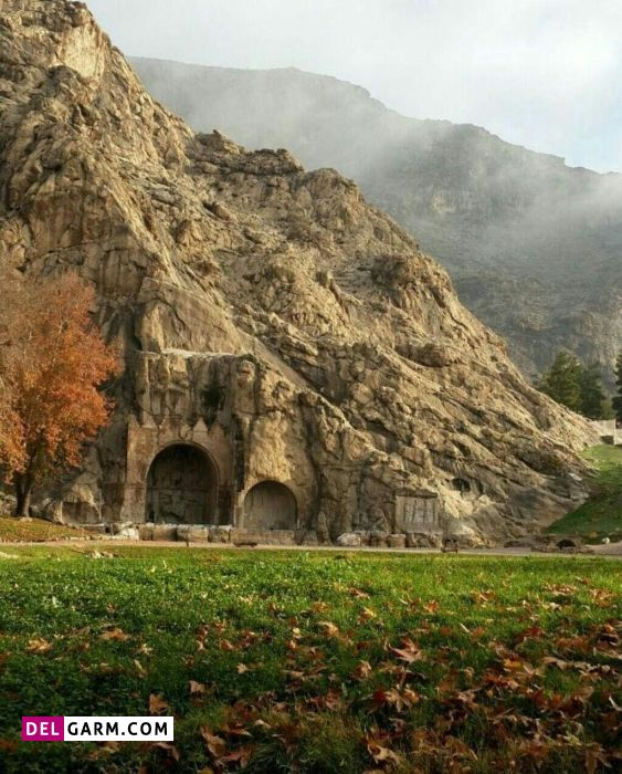 طاق بستان مجموعه ای از سنگ نوشته ها از جاذبه های گردشگری کرمانشاه